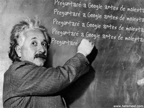 Einstein y Google
